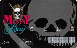 Treasure Island Casino Las Vegas, NV - Mutiny Bay Club - Children's Arcade Card - Slight Damage On Front - Casino Cards