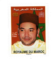 Y&T N° 1776** S.M. Mohamed VI Autoadhésif émis En Carnet - Marokko (1956-...)