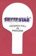 Silver Star Casino - Philadelphia, MS - Jackpot/Fill Slot Machine Flag (blank Reverse) - Casino Cards