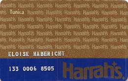 Harrah's Casino Tunica MS 2nd Issue Slot Card  ...[RSC]... - Casinokarten