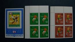 BULGARIA-1978-FUTBOL-COPA MUNDIAL ARGENTINA'78-(**MNH) - Collections (sans Albums)