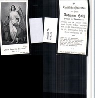 484732,Andachtsbild Sterbebild Johann Heiß Privat In Dörnbach - Andachtsbilder