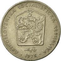 Monnaie, Tchécoslovaquie, 2 Koruny, 1975, TB+, Copper-nickel, KM:75 - Tchécoslovaquie