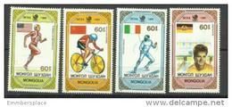 Mongolia - 1989 Seoul Olympics Medal Winners Set Of 4 MNH **  Sc 1751-4 - Mongolia