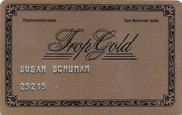Tropicana Casino - Atlantic City NJ - Rare 2nd Issue Trop Gold Slot Card  ...[RSC]... - Casino Cards