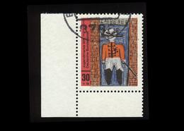 BRD 1971, Michel-Nr. 662, Jugend 1971, Eckrand Links Unten, Gestempelt, Siehe Foto - BRD