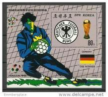 DPR Korea - 1990 Soccer World Cup Winners Souvenir Sheet MNH **  Sc 2928 - Korea, North
