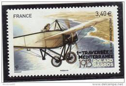 FRANCE YT PA 77 NEUF** - 1er TRAVERSEE DE LA MEDITERRANEE ROLAND GARROS 1913-2013 POSTE AERIENNE - - 1960-.... Neufs