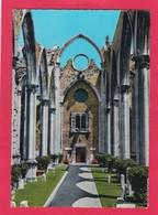 Modern Post Card Of Ruinas Do Convento Do Carmo,Lisboa Lisbon,Portugal,L55. - Lisboa