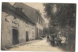 67 LE CLIMONT PAR URBEIS L'HOTEL COLLIN 1924 Tampon CPA 2 SCANS - Frankreich