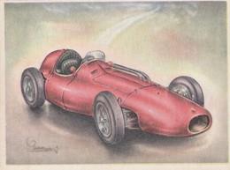 FULL SPEED VIRGINIA Nr 186, Ferrari 1955 - Cigarette Cards