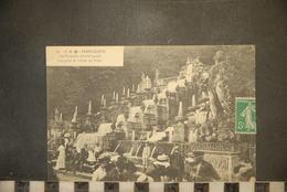CP, 92, SAINT CLOUD,   Les Cascades (Partie Haute) - Vue Prise De L'Allée Du Tillet - CM 76 - Saint Cloud