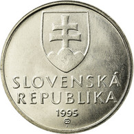 Monnaie, Slovaquie, 5 Koruna, 1995, SPL, Nickel Plated Steel, KM:14 - Eslovaquia