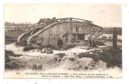 Tank Allemand Mis Hors De Combat-char -(D.1253) - War 1914-18