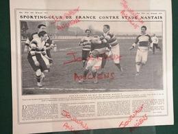 1911 RUGBY - SPORTING CLUB DE FRANCE = STADE NANTAIS - Livres, BD, Revues