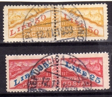 SAN MARINO 1946 PACCHI POSTALI PARCEL POST SERIE COMPLETA COMPLETE SET USATA USED OBLITERE' - Paquetes Postales