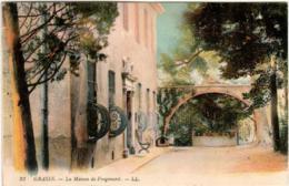 31om 1604 CPA - GRASSE - MAISON DE FRAGONARD - Grasse