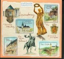 France BF  64 Luxembourg Capitales 2003  Neuf ** TB MNH Sin Charnela Faciale 2 - Ongebruikt
