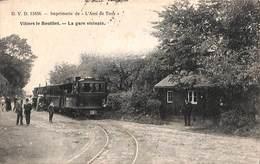 Villers Le Bouillet - La Gare Vicinale (tram Tramway Animée DVD 13456, L'Ami De Tous 1909) - Villers-le-Bouillet