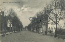Vilvoorde : Nouveau Boulevard   (  Ecrit  1910 Avec Timbre  ) - Vilvoorde