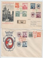 Drittes Reich , 2 Belege Aus Pardubice 1940 - Covers & Documents