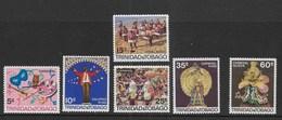 TRINIDAD & TOBAGO - 1968 - CARNIVAL - 7 VAL. NUOVA SENZA GOMMA MH* (YVERT 214/219 - MICHEL 210/215) - Carnevale