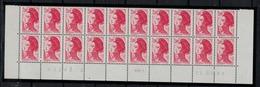 FRANCE      N° YVERT  :   2274 X 20   NEUF   BAS DE FEUILLE  Coin Daté  11/05/83    N°  43240 - 2    RGR - 1 - 1982-90 Liberty Of Gandon