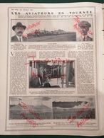 1911 AVIATION - LES AVIATEURS FRANÇAIS EN TOURNÉE EN AMÉRIQUE - ROLAND GARROS.- AUDEMARS - BIELOVUVICIC - Livres, BD, Revues