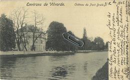 Vilvoorde : Chateau Du Pont Brulé  ( 1902 Met Zegel ) - Vilvoorde