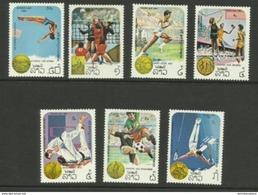 Laos - 1984 Olympics Set Of 7 MNH **   Sc 521-7 - Laos