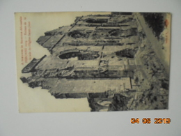 A Travers La Somme Dévastée - Péronne 1919 - Ruines De La Façade De L'église Saint Jean. AV - Peronne