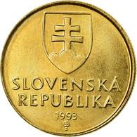 Monnaie, Slovaquie, Koruna, 1993, SPL, Bronze Plated Steel, KM:12 - Slovaquie