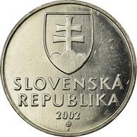 Monnaie, Slovaquie, 2 Koruna, 2002, SPL, Nickel Plated Steel, KM:13 - Eslovaquia