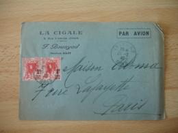 La Cogale Oran Enveloppe Commerciale - 1900 – 1949