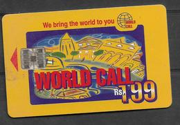 USED CHIP PHONECARD PAKISTAN  RS 199 - Pakistan