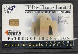 USED CHIP PHONECARD PAKISTAN  500 UNITS - Pakistan