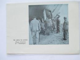 (1959) SAINT NAZAIRE Chantier  - Lancement Navire Retrait Des Accores  -  Coupure De Presse Originale (encart Photo) - Documents Historiques