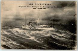 52943026 - Schiff S.S. El-Kantara Paquebot Poste Francais Des Messageries Maritimes - Steamers