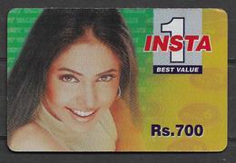USED PHONECARD PAKISTAN INSTA 1 RS 700 - Pakistan
