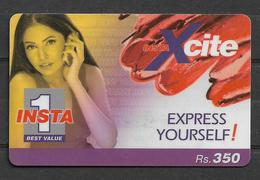 USED PHONECARD PAKISTAN INSTA 1 RS 350 - Pakistan