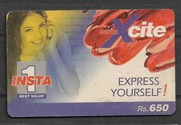 USED PHONECARD PAKISTAN INSTA 1 RS 650 - Pakistan