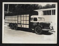"""PHOTO 24X18 CM """"TRANSPORTS VVE CASTET GALET-ARIEGE"""" - Camions"""