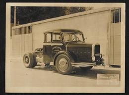 "PHOTO 24X18 CM ""TRANSPORTS LOUZERTINS ""-LOUZERTE TARN ET GARONNE"" - Camions"