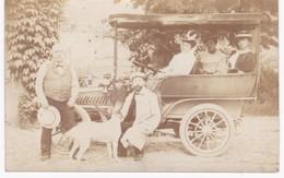 Carte-photo - DE DION BOUTON Type AV 1907 - Cpa De Groslée ( Ain ) à Lyon ( Rhône ) - 1908 - Voitures De Tourisme