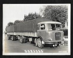 "PHOTO 24X18 CM ""TRANSPORTS MONACHOR - SAVOIE "" - Camions"