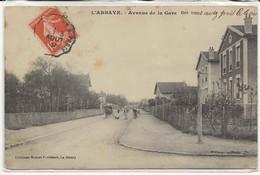 93 - 30764     -     L'  ABBAYE       -     Avenue De La Gare - France