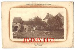 CPA - Ferme - Les Epoisses En 1918 - Environs De MORMANT 77 Seine Et Marne - Edit. G. Thiet - Scans Recto-Verso - Mormant