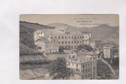 CPA SAN SEBASTIAN, COLEGIO DEL SAGRADO CORAZON - Guipúzcoa (San Sebastián)