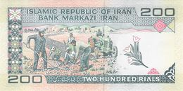 200 Rial Iran UNC - Iran