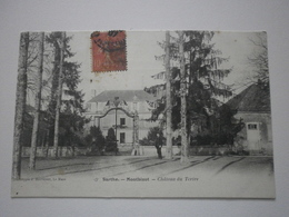 72 Montbizot, Chateau Du Tertre (1201) - Francia